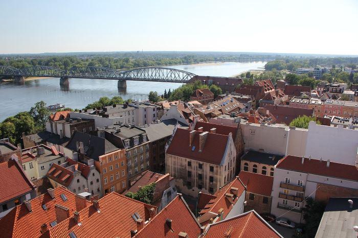UM Toruń:                     Ruch wahadłowy na moście