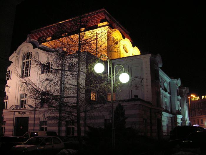 UM Toruń:                     Nocne prace na moście