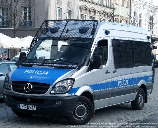 Policja Toruń: Policjantka odwiedziła przedszkole w Osieku nad Wisłą