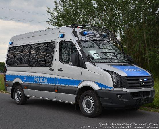 Policja Toruń: Nie zareagował na sygnały policjantów